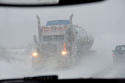 Bad Weather Trucking