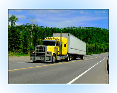#A Travel Trans Canada, Trucking, Rictographs Images