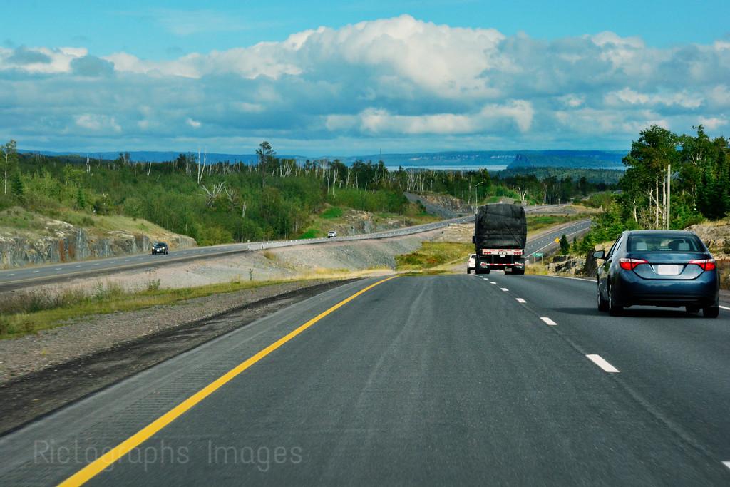 Trans Canada Highway, Eleven- Seventeen, North Western Ontario, Canada