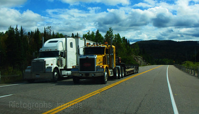 Trucking, The Trans Canada Highway