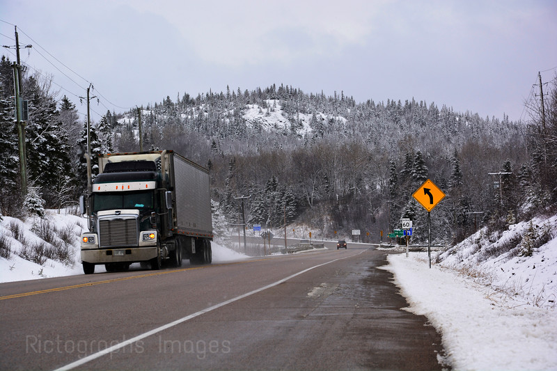Trucking On The Trans Canada Highway, Spring 2016 Rictographs Images