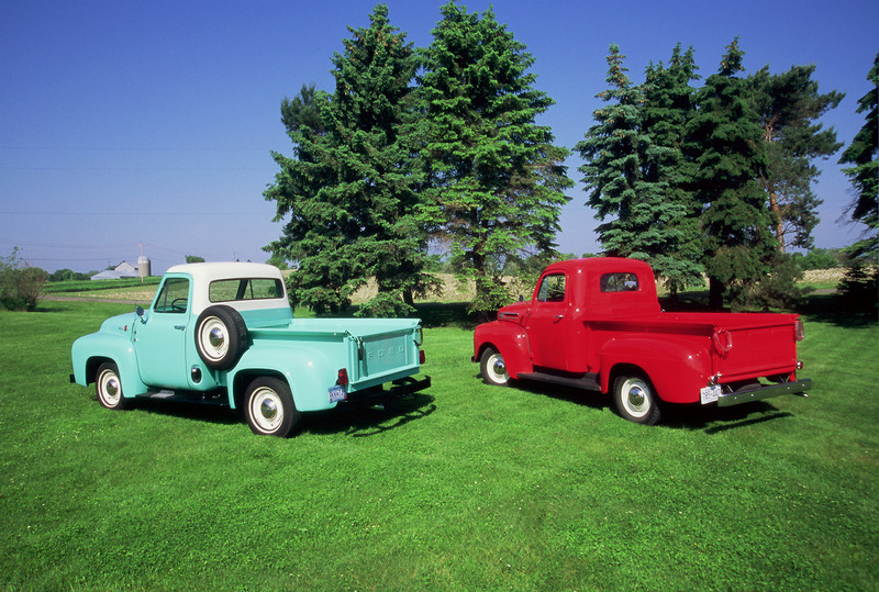 1955 Ford & 1948 Ford