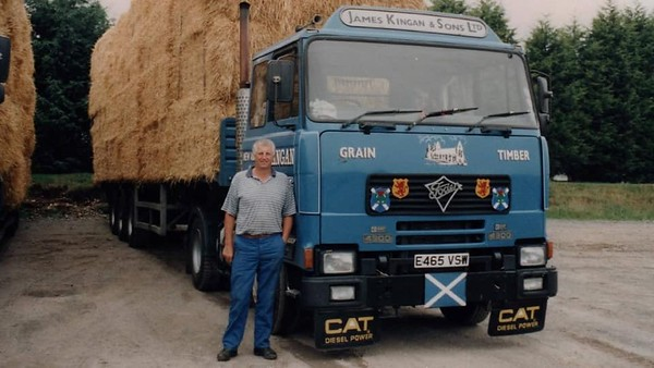E465 VSW Foden 4300 of James Kingan and Sons Limited - Fraser's family firm - photographer unknown