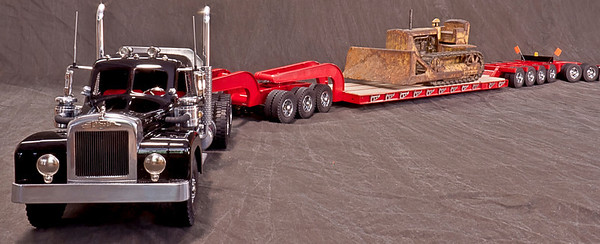 This Cab is a Bill Musgrave original. The custom trailer is an original Bill Musgrave creation.
