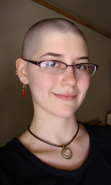 Megan shaved her head 2013