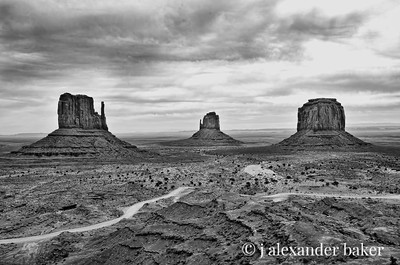 The Mittens and Merrick Butte, Monument Valley, Navajo Nation