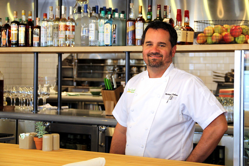 True Food Kitchen brand chef, Michael Stebner, was on hand to oversee the opening of the Denver restaurant