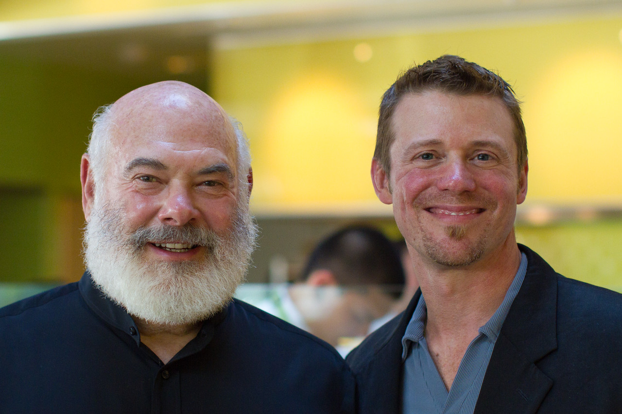 Dr. Weil and Dr. Jim Nicolai