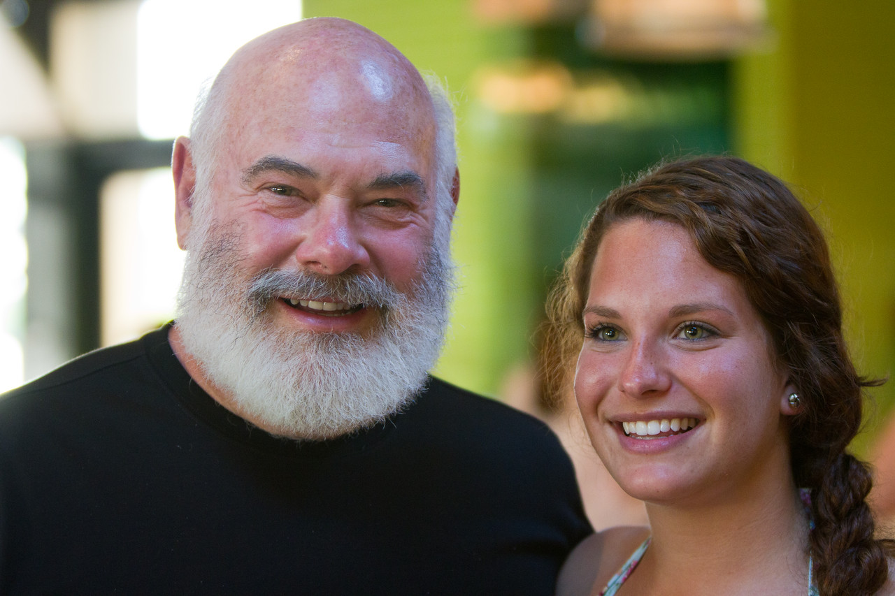 Dr. Weil and His Daughter, Diana