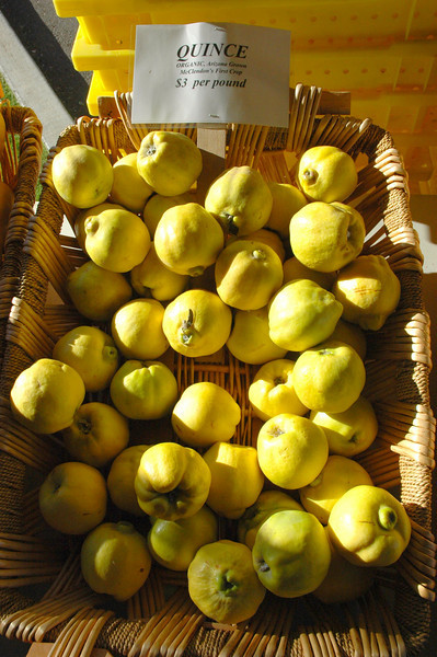 For those with a taste for the exotic - quince!
