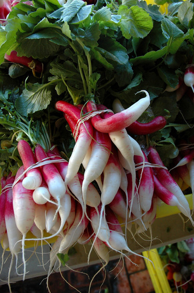 Lovely French radishes.