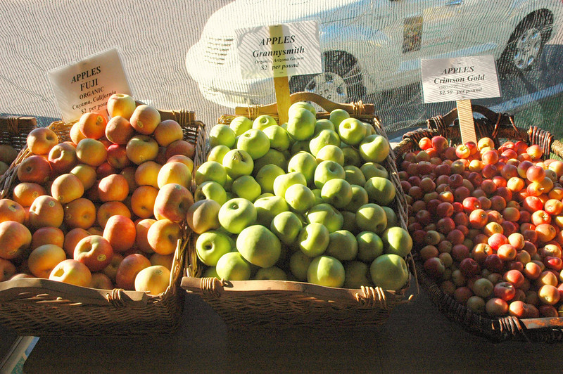 An organic apple a day keeps the doctor away (even Dr. Weil!)