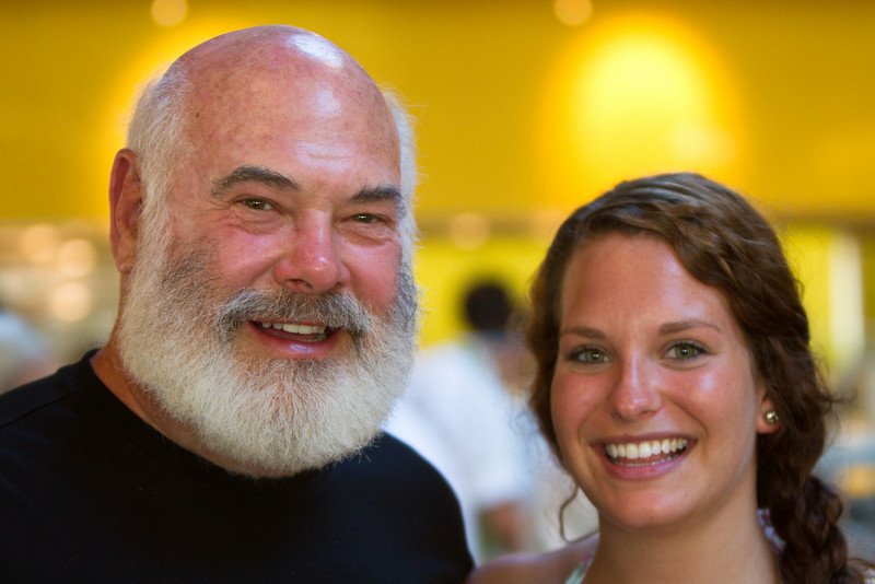 Dr. Weil and daughter, Diana