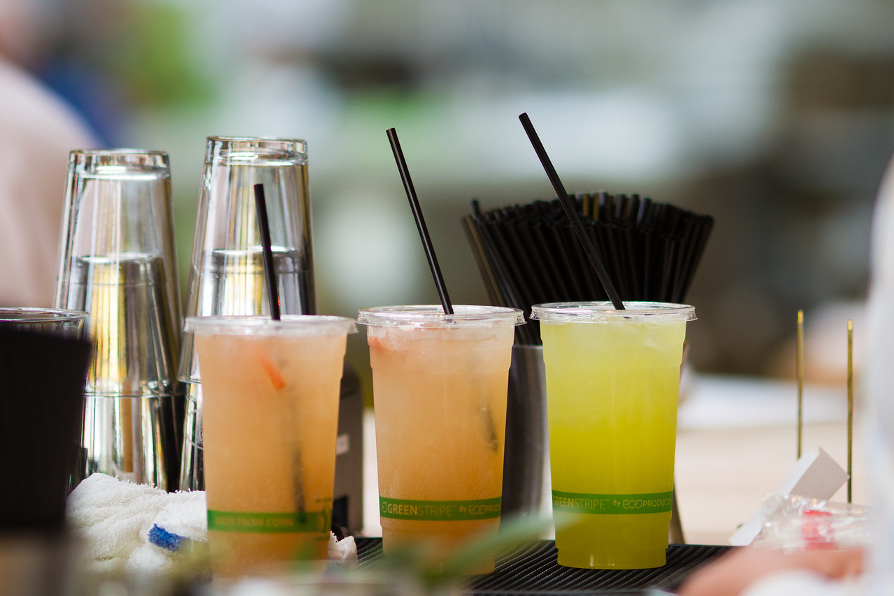 Natural refreshments, bursting with vitamins, antioxidants, and pure flavor - at the juice bar.