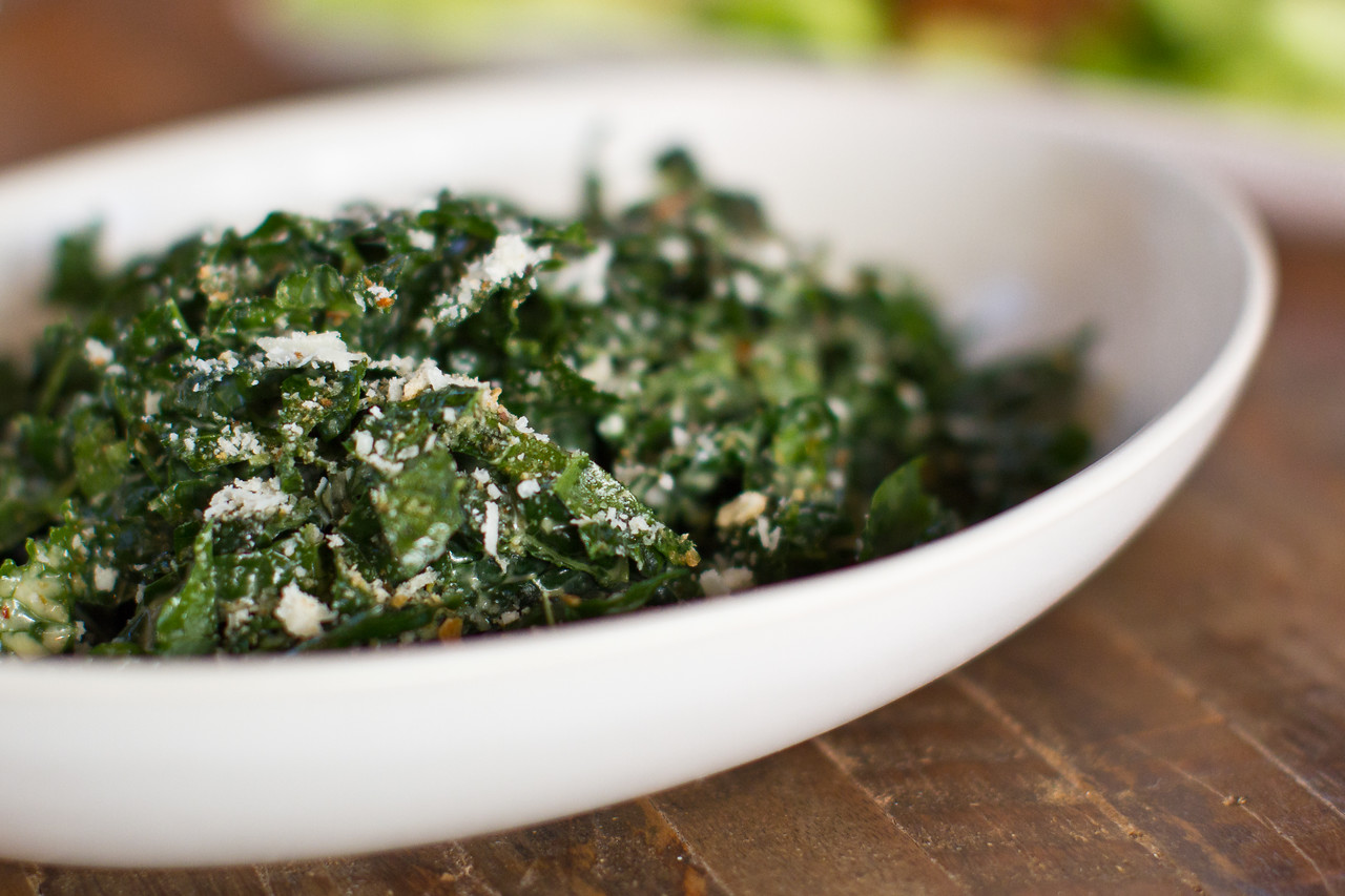 The Tuscan Kale Salad is undoubtedly True Food's signature dish. With Olive Oil, Lemon, Parmesan & Bread Crumbs.