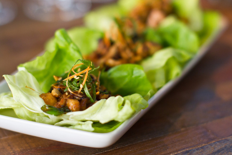 Shiitake Mushroom Lettuce Cups: A vegetarian appetizer with some of Dr. Weil's favorite anti-inflammatory ingredients: Ginger, Tofu, Cashews & Toasted Garlic.
