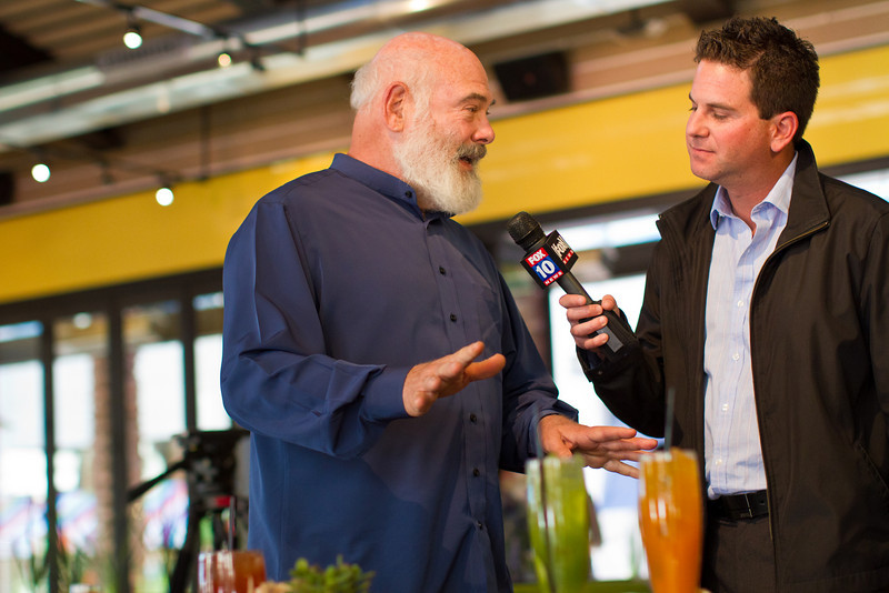 "Dr. Weil explains the restaurant's philosophy: ""True Food is intended to be a new kind of restaurant: one in which delicious flavors, healthy nutrients, environmental awareness and an inviting atmosphere come together to create an unforgettable dining experience."""