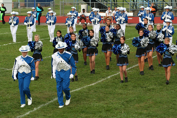 Truman Marching Band<br /> © Pamela Stover<br /> Exposed Images Photography