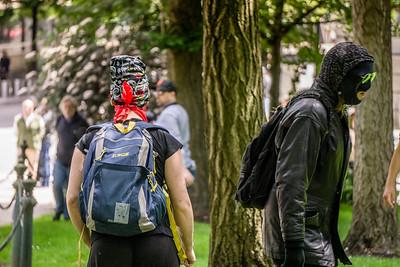 Trump Free Speech/Antifa Portland, Oregon 2017