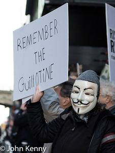anti-Trump 42nd Street Protest 12/2/17