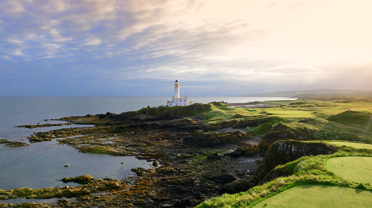 Ailsa Course 9th @ Trump Turnberry
