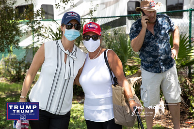 What do all these people have in common? They have come to welcome President Trump on the tarmac at Tampa International Airport on July 31, 2020. Only pre-screened, by the Secret Service people were allowed onto the Tarmac. My name was on the list, thanks to Rosie Paulson -Latinos for Trump, but I was told that I would not be allowed with my camera - only phones to shoot photos.  President Trump will meet  with Florida Sheriffs, then travel to the Pelican Golf Club in Belleair to attend a round table discussion regarding Covid-19 and storm preparedness.  Please feel free to tag yourself and friends on the photos, which I have shot without compensation.  Nice Comments are appreciated.    I am a photographer in St Petersburg and am available for private and commercial events, sports, and more.  Photos by: Joe Mestas www.joemestas.com email: onthegulf@gmail.com
