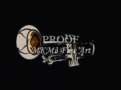 Painting Print of a Trumpet 717.2063