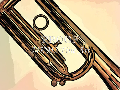 Painting Print of Trumpet 724.2062