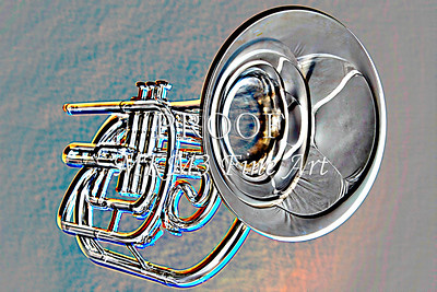 Marching Horn Embossed 2504.59