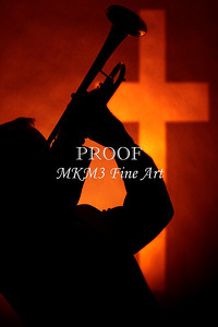 Trumpet and Cross Silhouette 2508.75