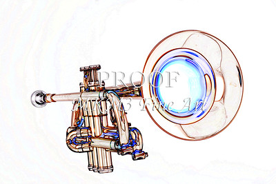 Trumpet Bell Watercolor 2506.18