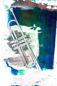 Trumpet in the Night Painting 2503.37