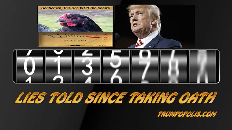 Running Count Of Trump Lies Told Since Taking Oath Of Office