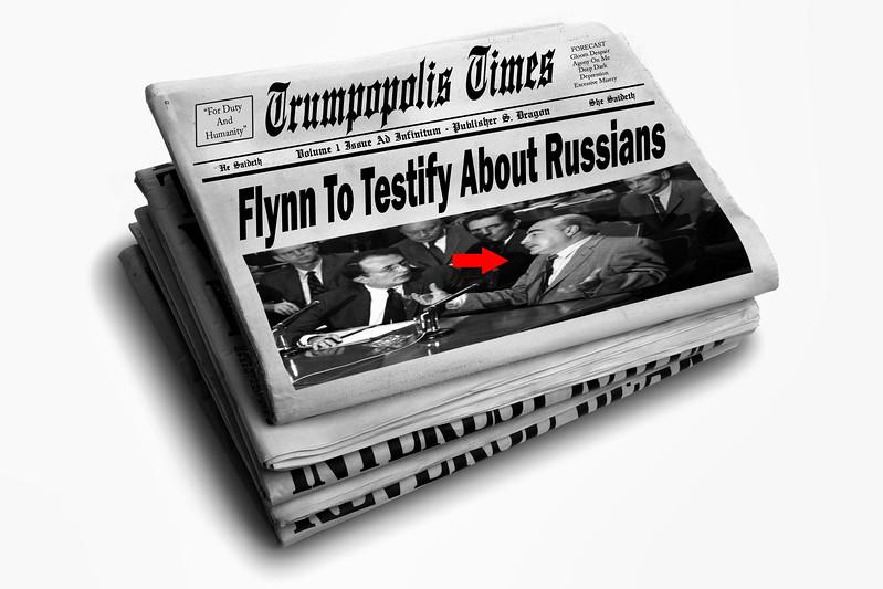 Flynn To Testify Against Russians - But First A Refreshing Bath