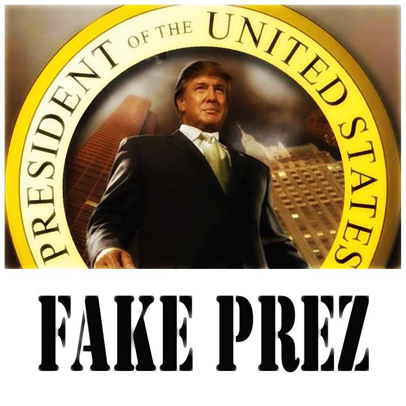 #FakePrez