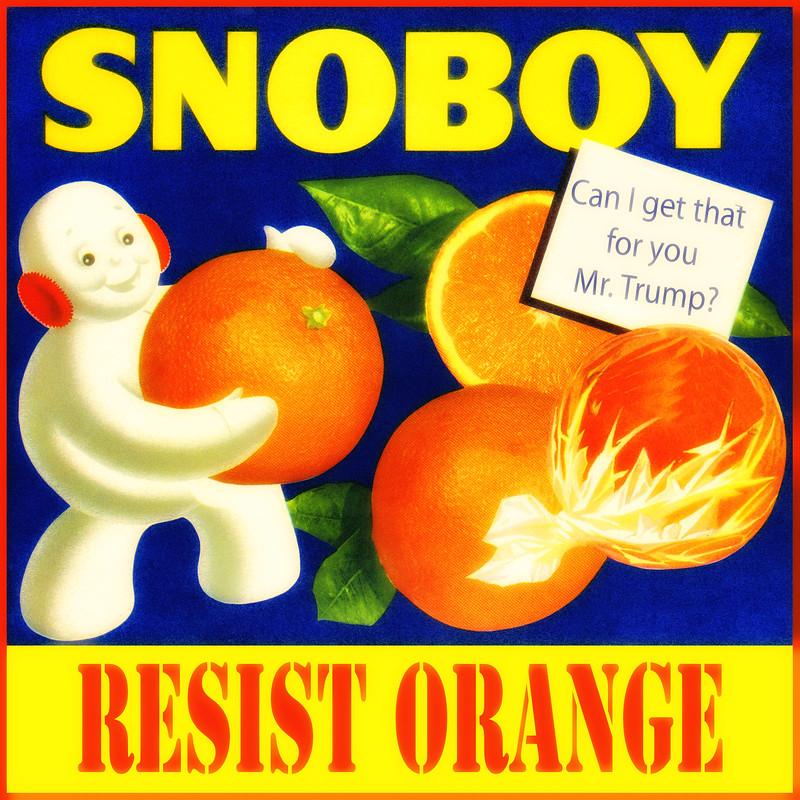#Snoboy #ResistOrange