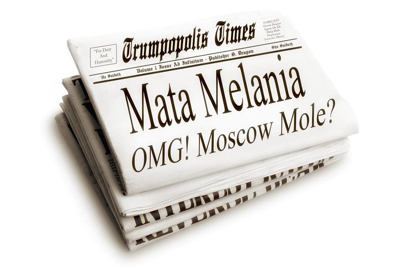 Mata Melania OMG! Moscow Mole?