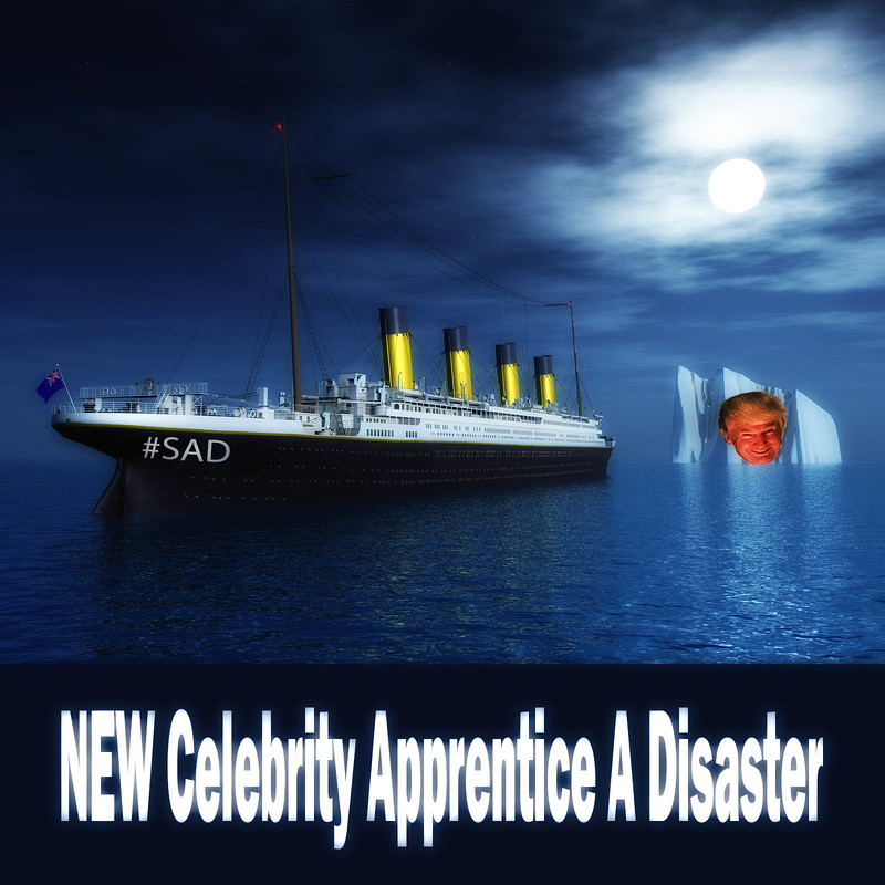 Name Three Disasters--Titanic-HIndenberg-New Celeb Apprentice