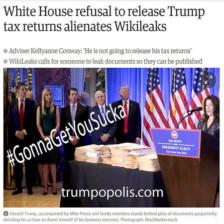 How You Like Wikileaks Now Sucka?