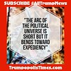 Dragon Quote-The Arc Of The Political Universe Is Short But It Bends Toward Expediency