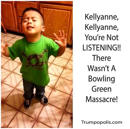 @KellyannePolls #FakeMassacre