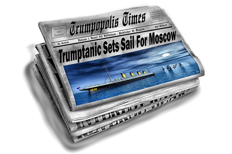 Trumptanic Sets Sail For Moscow