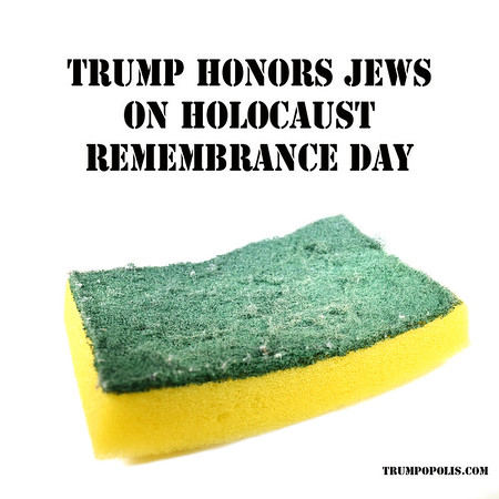 Trump Honors Jews On Holocaust Remembrance Day