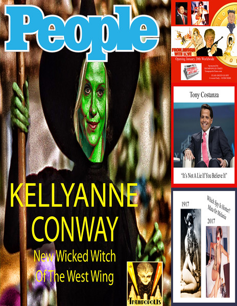 #KellyanneConway New Wicked Witch Of West Wing
