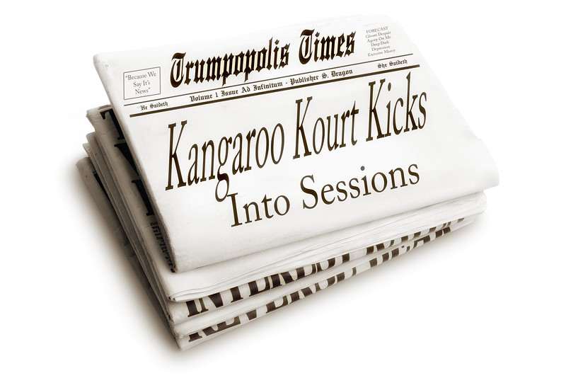 Kangaroo Kourt Kicks Into Sessions