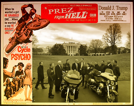#ResistRooster Too Chicken To Visit @HarleyDavidson In Wisconsin Because Of Protests Made Them Come To White House #SAD