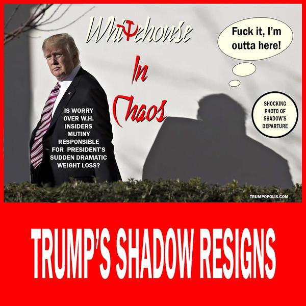 Under Pressure - Trump's Shadow Resigns