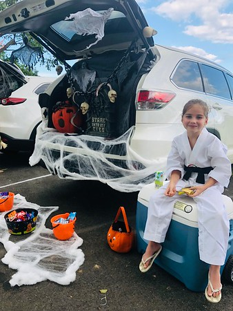 Trunk or Treat, Costume and Silly Sock Day 2018