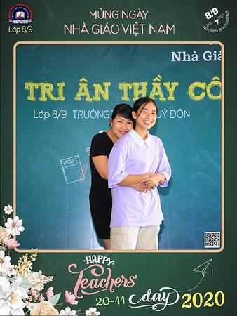 Trường THCS Lê Quý Đôn | Trí ân Thầy Cô nhân ngày Nhà giáo Việt Nam năm học 2020-2021 | Vietnam Teacher's Day 2020 instant print photo booth | Ho Chi Minh City Photo Boooth