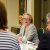 Congresswoman Niki Tsongas during a roundtable discussion in honor of Womens Equality Day at Fitchburg State University on Friday afternoon. SENTINEL & ENTERPRISE / Ashley Green
